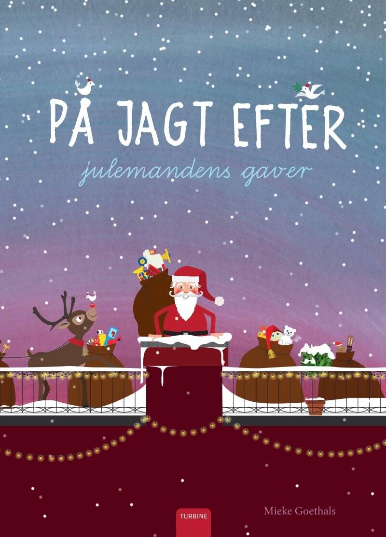 På Jagt Efter Julemandens Gaver - Mieke Goethals - Bog