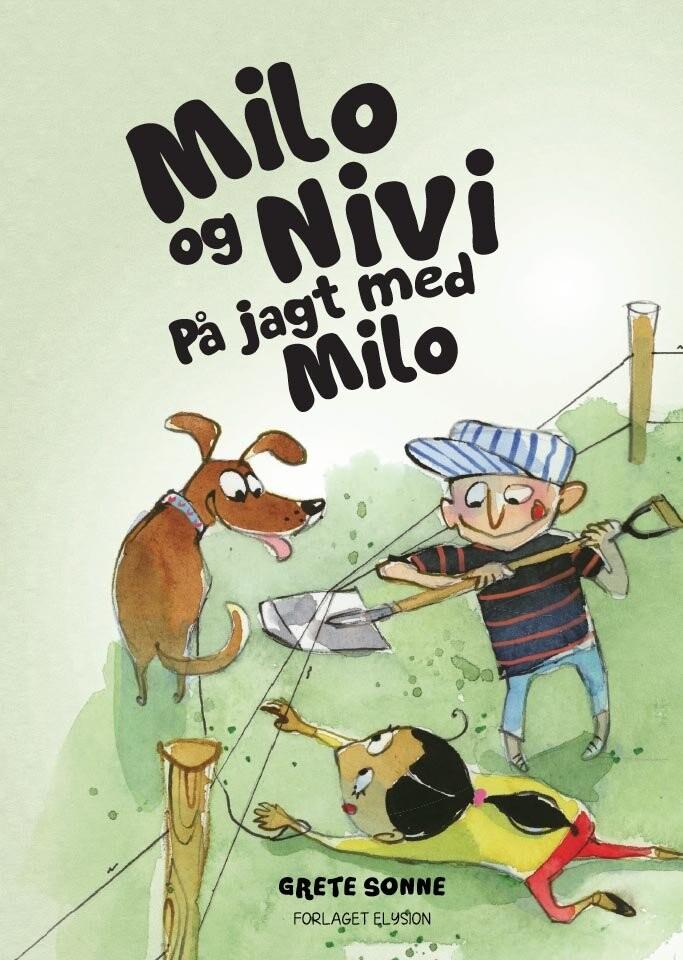 Image of   På Jagt Med Milo - Grete Sonne - Bog