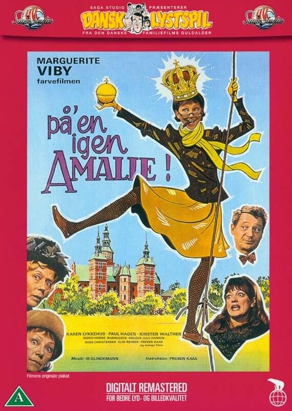 Billede af Påen Igen Amalie / På Den Igen Amalie - DVD - Film