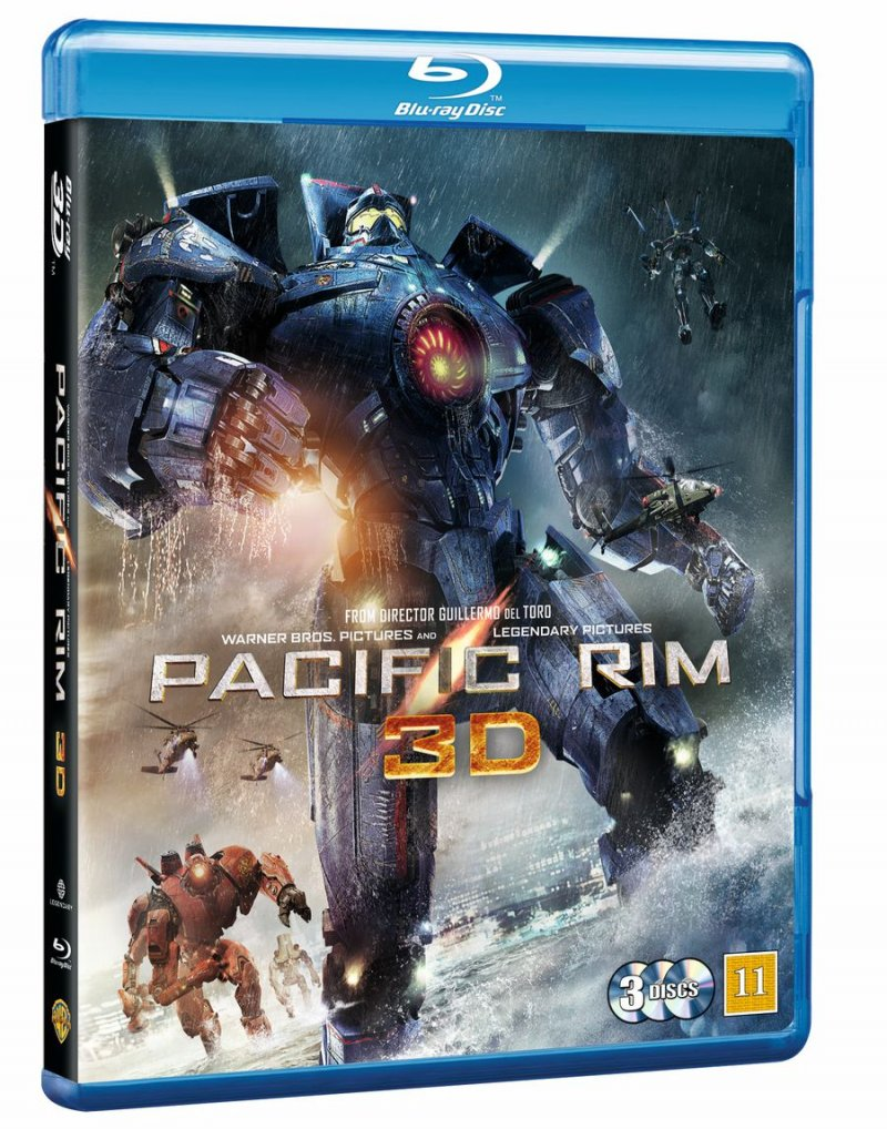 Image of   Pacific Rim - 3D Blu-Ray