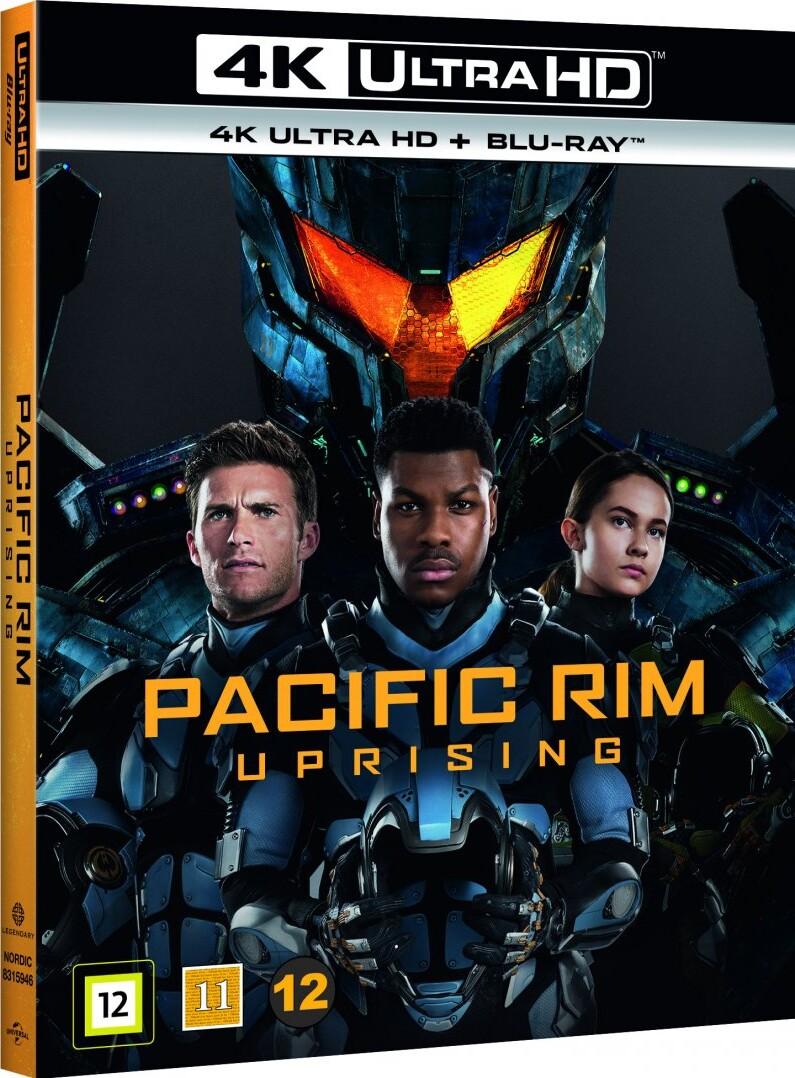 Image of   Pacific Rim 2 - Uprising - 4K Blu-Ray