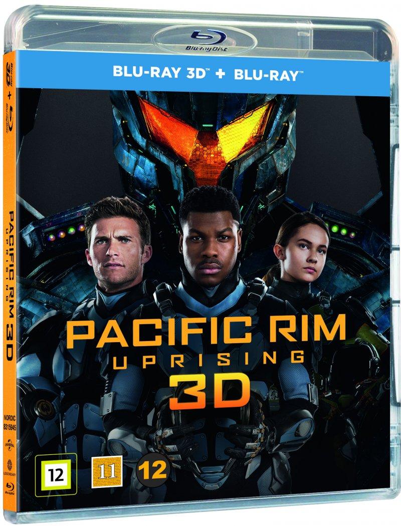 Image of   Pacific Rim 2 - Uprising - 3D Blu-Ray