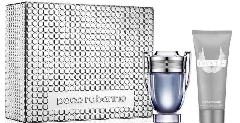 Image of   Paco Rabanne Invictus Edt Parfume 100ml & Showergel 100ml I Gaveæske