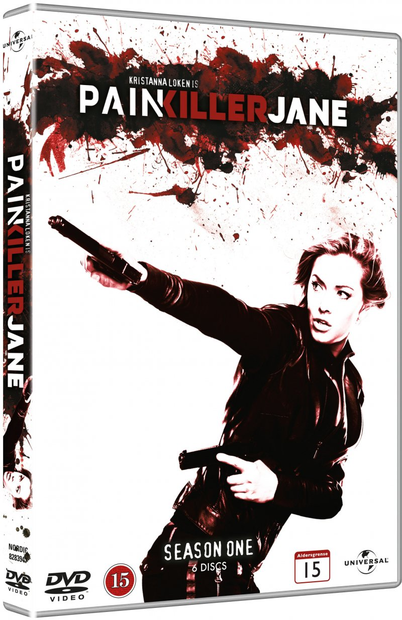 Image of   Painkiller Jane - Sæson 1 - DVD - Tv-serie