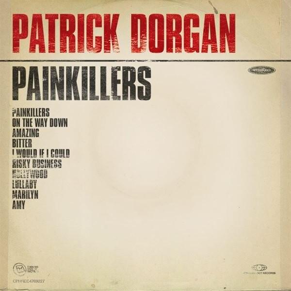 Billede af Patrick Dorgan - Painkillers - CD
