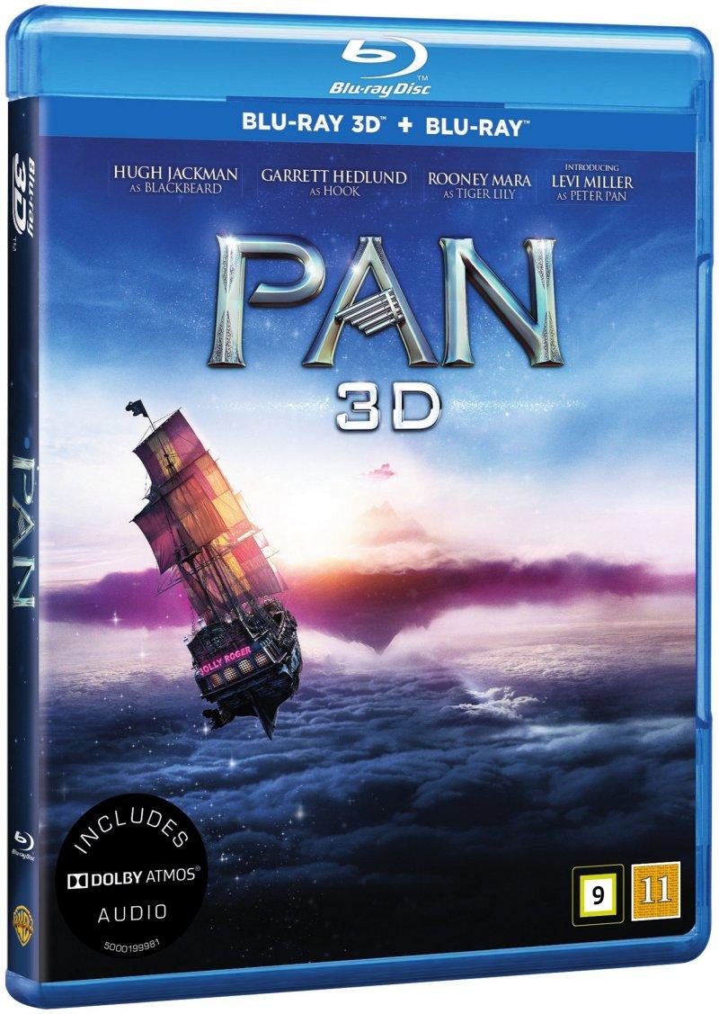Image of   Pan - 3D Blu-Ray