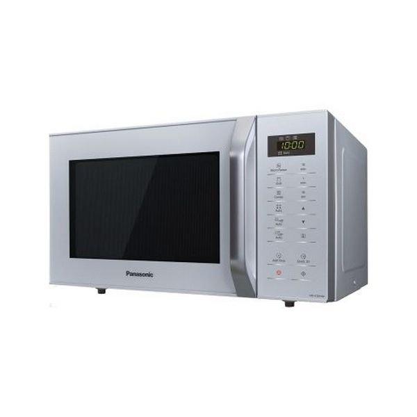 Image of   Panasonic - Mikroovn Med Grill - Nn-k36hmmepg - 23l 800w - Sølv