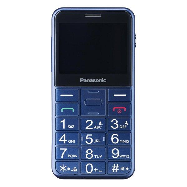 Image of   Panasonic - Mobiltelefon Til ældre - Dual Sim - Kx-tu150 - Blå