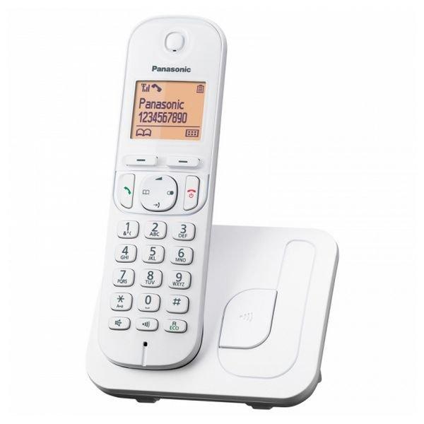 Image of   Panasonic - Trådløs Fastnet Telefon - Kx-tgc210 - Hvid