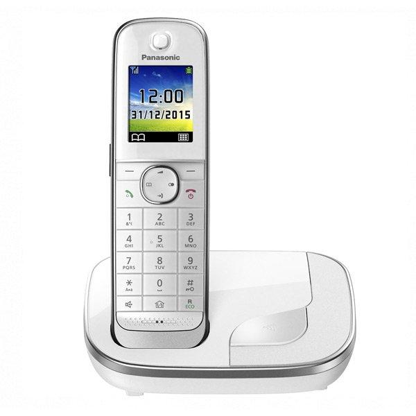 Image of   Panasonic - Trådløs Fastnet Telefon - Kx-tgj310spw - Hvid