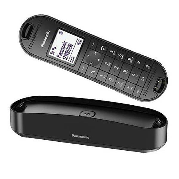 Image of   Panasonic - Trådløs Fastnet Telefon - Kx-tgk310spb - Sort