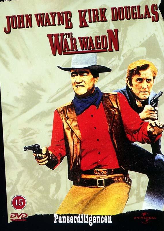 Image of   Panserdilligencen / The War Wagon - DVD - Film