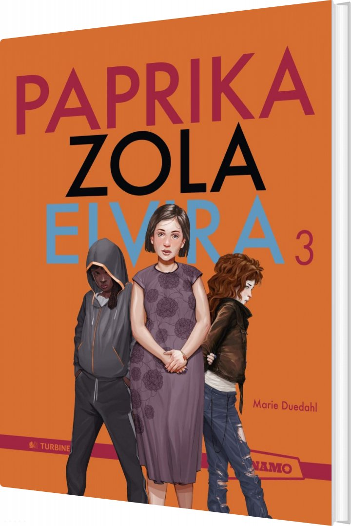 Image of   Paprika Zola Elvira 3 - Marie Duedahl - Bog