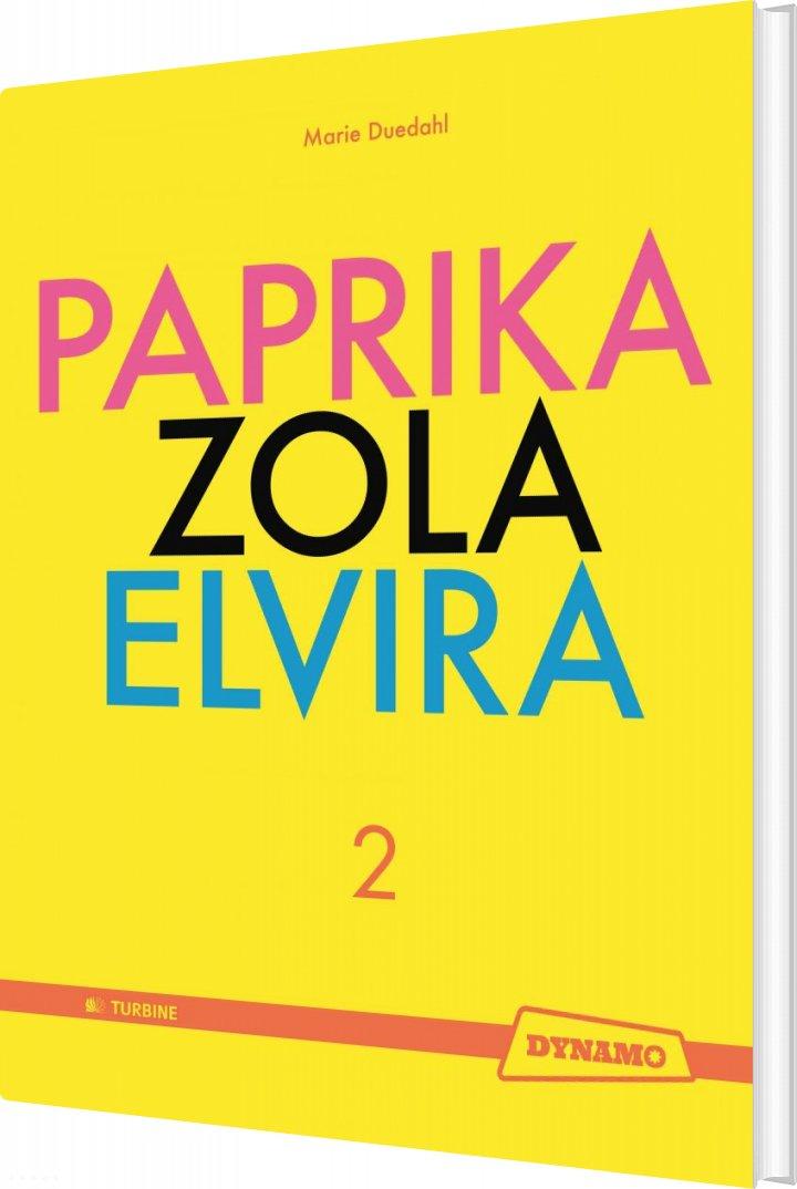 Image of   Paprika Zola Elvira - Marie Duedahl - Bog