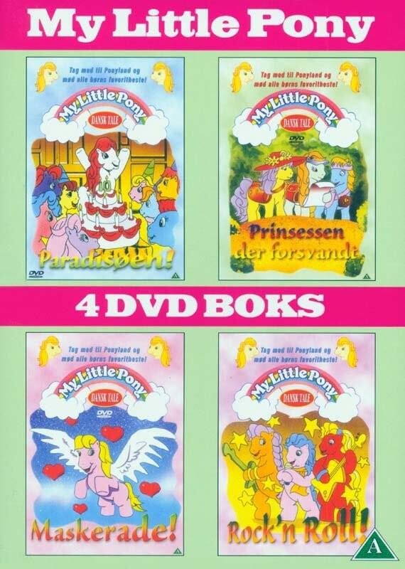 Billede af My Little Pony - Paradisøen // Prinsessen Der Forsvandt // Maskerade! // Rockn Roll - DVD - Film
