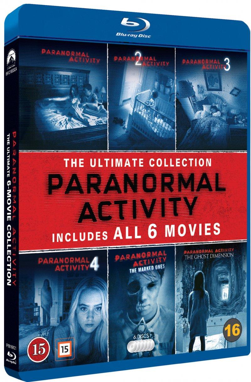 Billede af Paranormal Activity 1-6 Boks - Blu-Ray