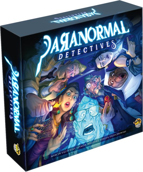 Paranormal Detectives - Brætspil På Engelek