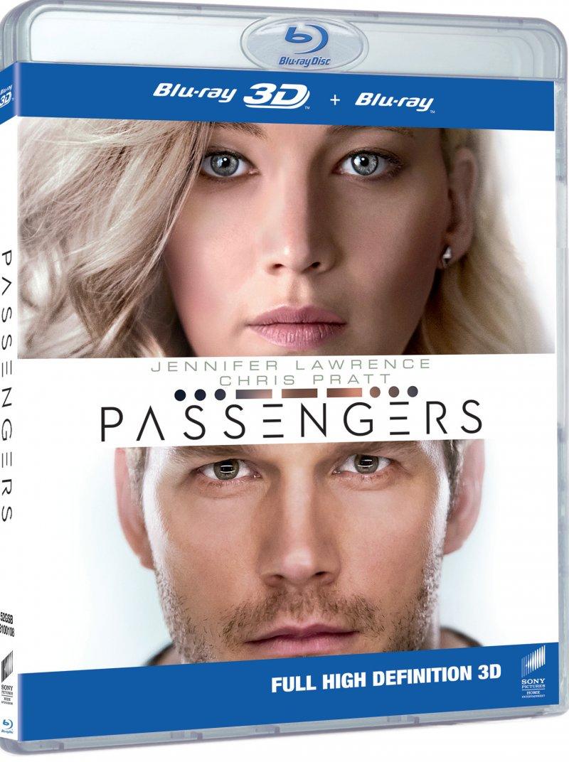 Image of   Passengers - 2016 - 3D Blu-Ray