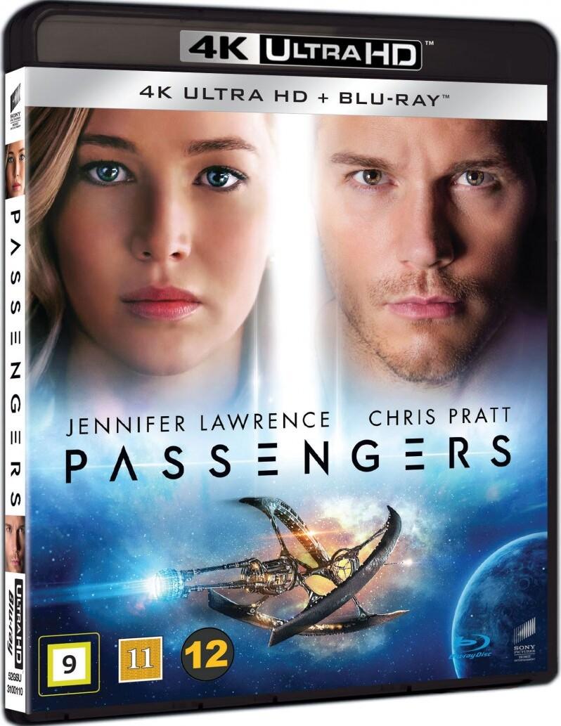 Image of   Passengers - 2016 - 4K Blu-Ray