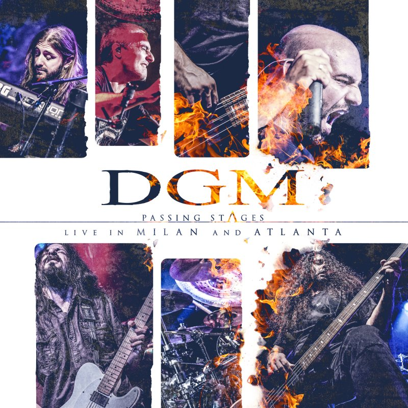 Image of   Dgm - Passing Stages - Live In Milan And Atlanta - CD