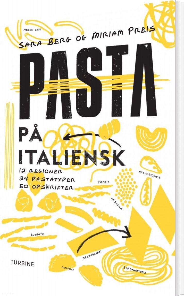 Pasta På Italiensk - Sara Berg - Bog
