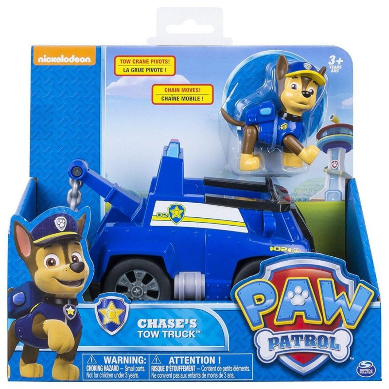 Paw Patrol Basic Vehicle - Chases Tow Truck
