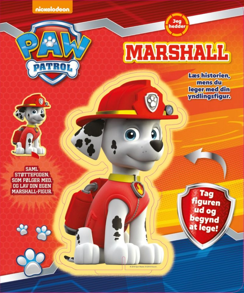 67504f49ba59 Image of Paw Patrol I Am Marshall - Diverse - Bog