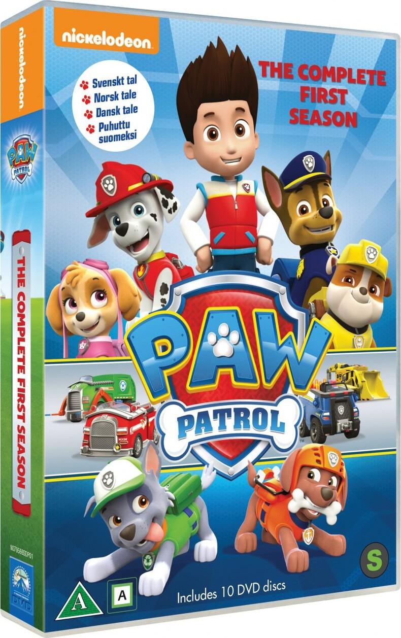 Billede af Paw Patrol - Sæson 1 - Vol. 1-10 - Dansk Tale - DVD - Film