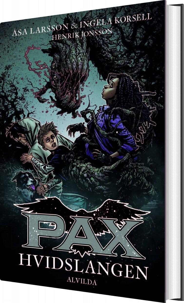 Pax 8: Hvidslangen - åsa Larsson - Bog