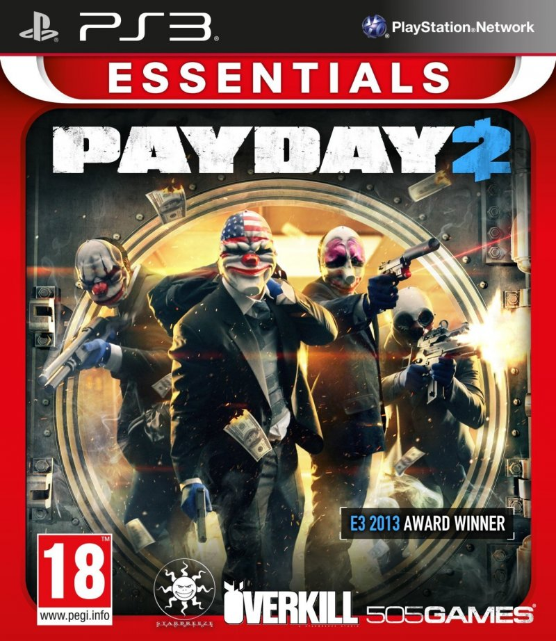 Image of   Payday 2 (essentials) - PS3