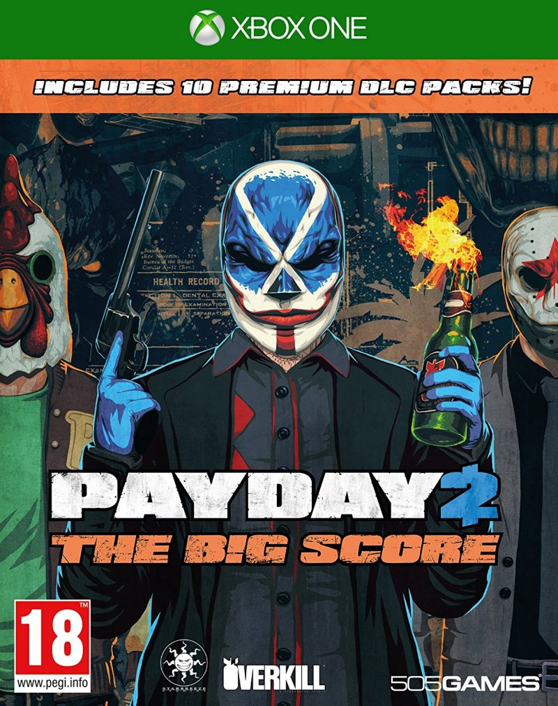 Image of   Payday 2: The Big Score - Xbox One