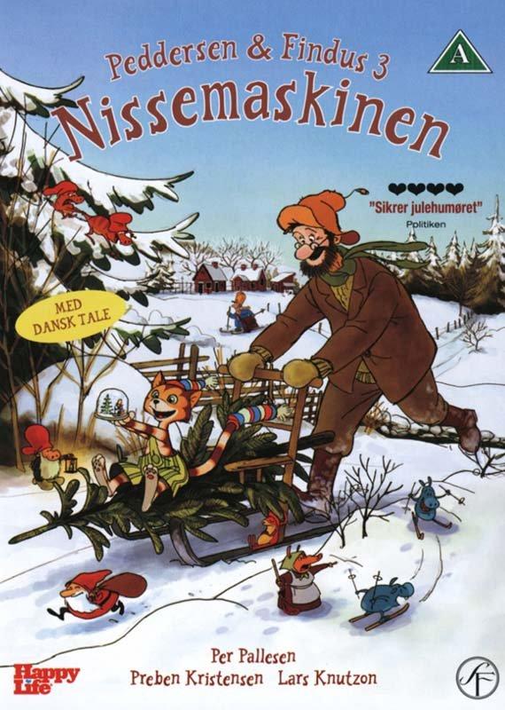 Image of   Peddersen Og Findus 3 - Nissemaskinen - DVD - Film