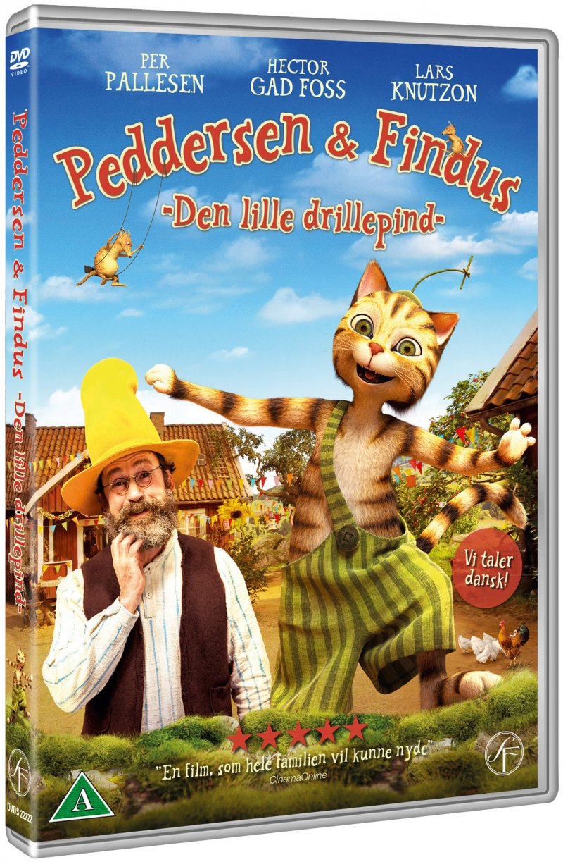 Image of   Peddersen Og Findus - Den Lille Drillepind - DVD - Film