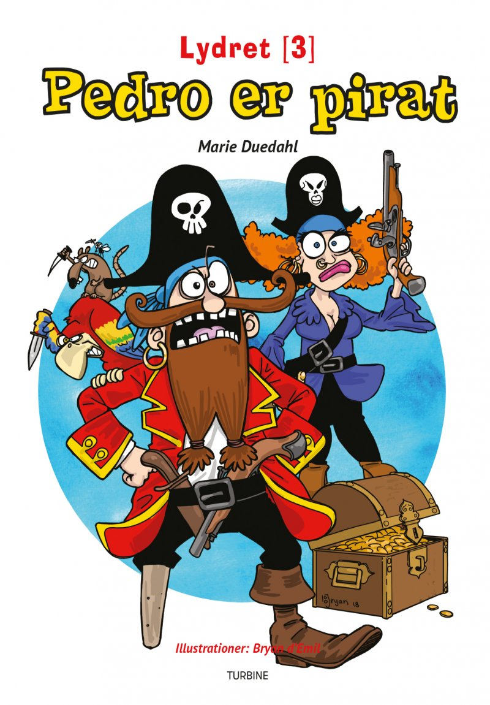 Image of   Pedro Er Pirat - Marie Duedahl - Bog