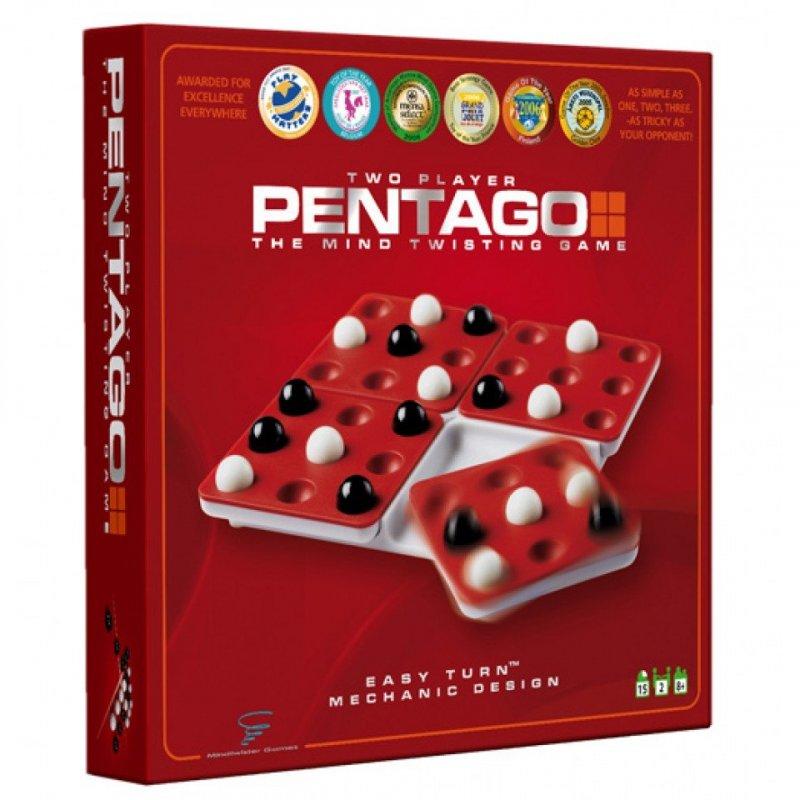 Pentago - 5 På Stribe Brætspil
