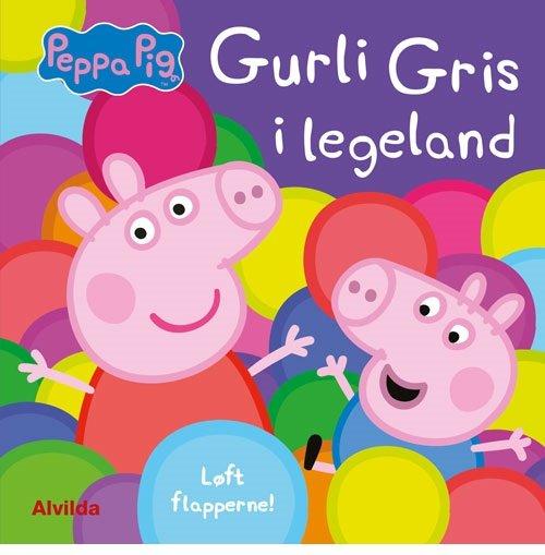 Image of   Gurli Gris I Legeland - Løft Flapperne - Diverse - Bog