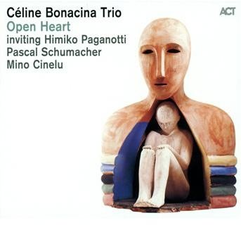 Image of   Céline Bonacina Trio - Open Heart - CD