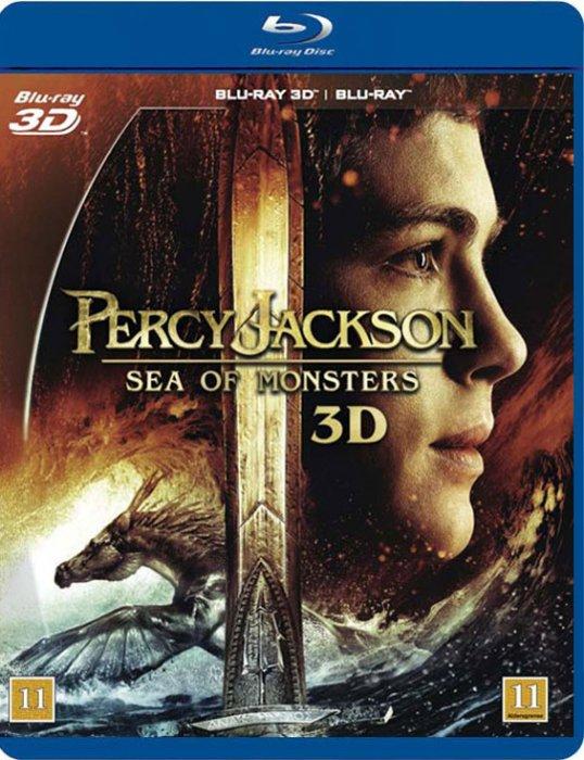 Image of   Percy Jackson 2: Uhyrernes Hav - 3D Blu-Ray