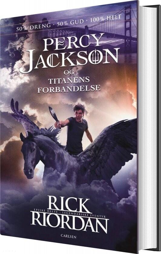 Image of   Percy Jackson 3 - Percy Jackson Og Titanens Forbandelse - Rick Riordan - Bog