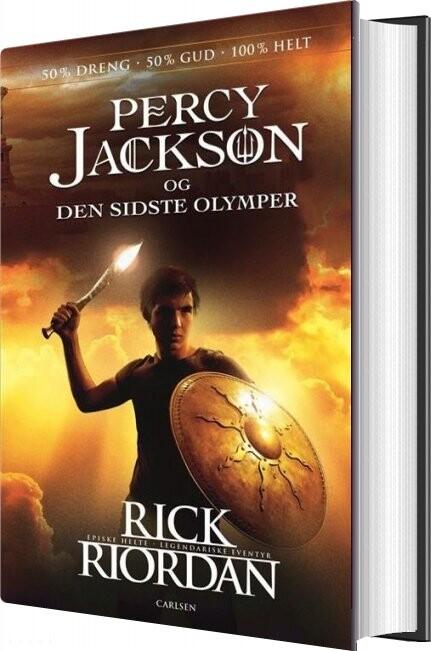 Image of   Percy Jackson 5 - Percy Jackson Og Den Sidste Olymper - Rick Riordan - Bog