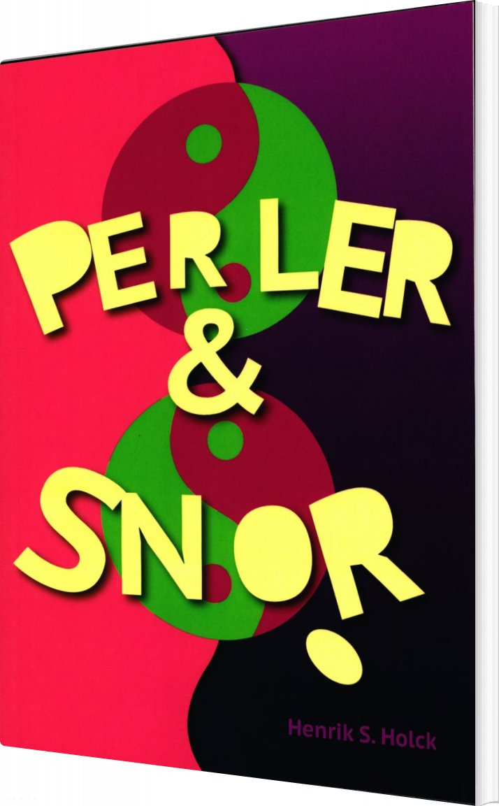 Perler & Snor - Henrik S. Holck - Bog