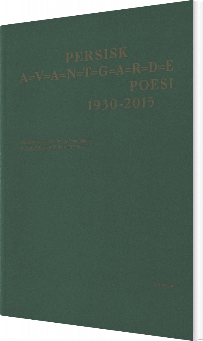 Persisk Avantgarde Poesi - Omid Shams - Bog