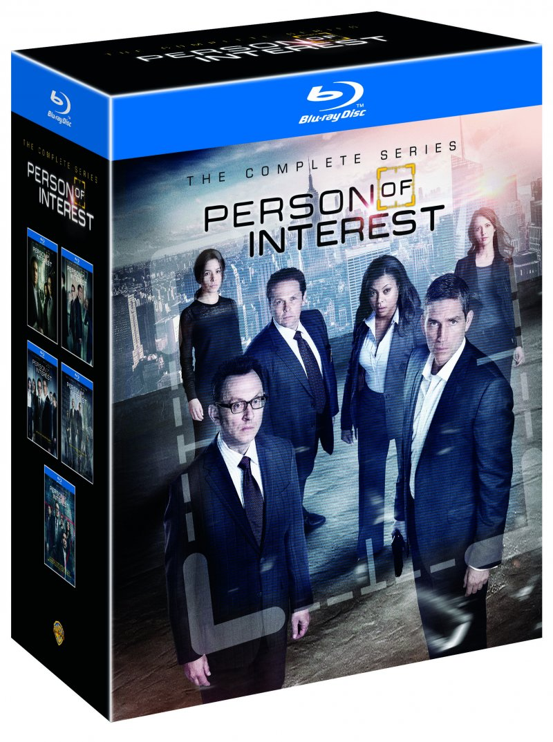 Person Of Interest - Sæson 1-5 - Blu-Ray - Tv-serie