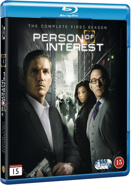 Person Of Interest - Sæson 1 - Blu-Ray - Tv-serie