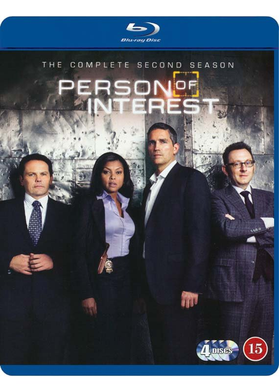 Person Of Interest - Sæson 2 - Blu-Ray - Tv-serie