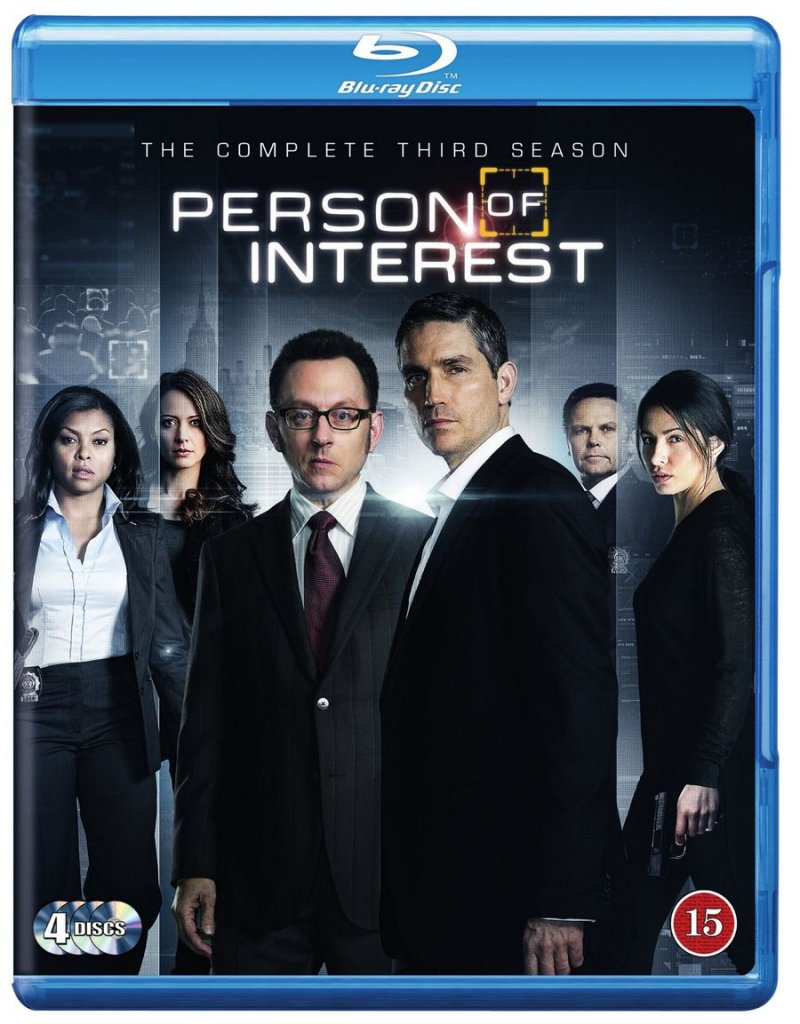 Person Of Interest - Sæson 3 - Blu-Ray - Tv-serie