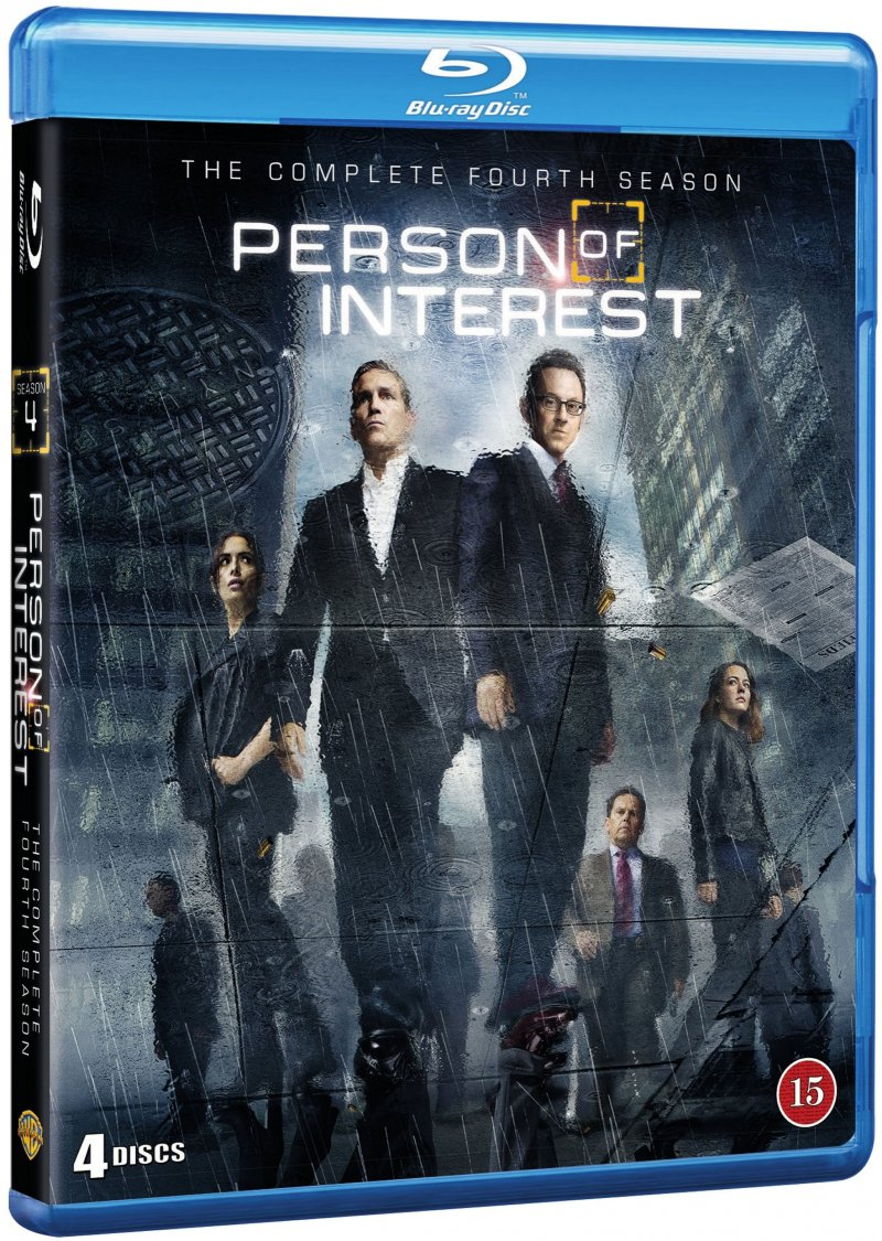 Person Of Interest - Sæson 4 - Blu-Ray - Tv-serie