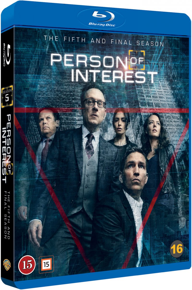 Person Of Interest - Sæson 5 - Blu-Ray - Tv-serie