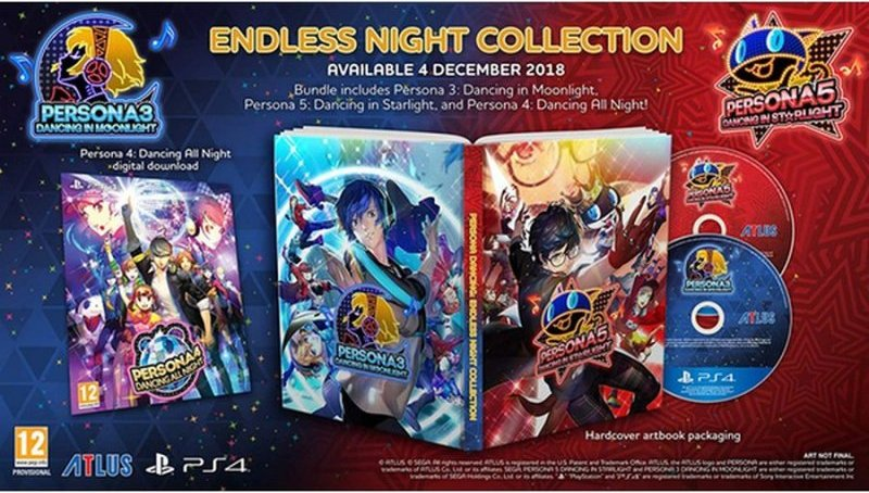 Image of   Persona 3 And 5 Endless Night Collection - PS4