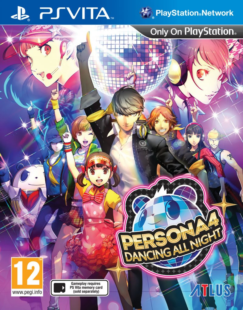 Persona 4: Dancing All Night - Ps Vita
